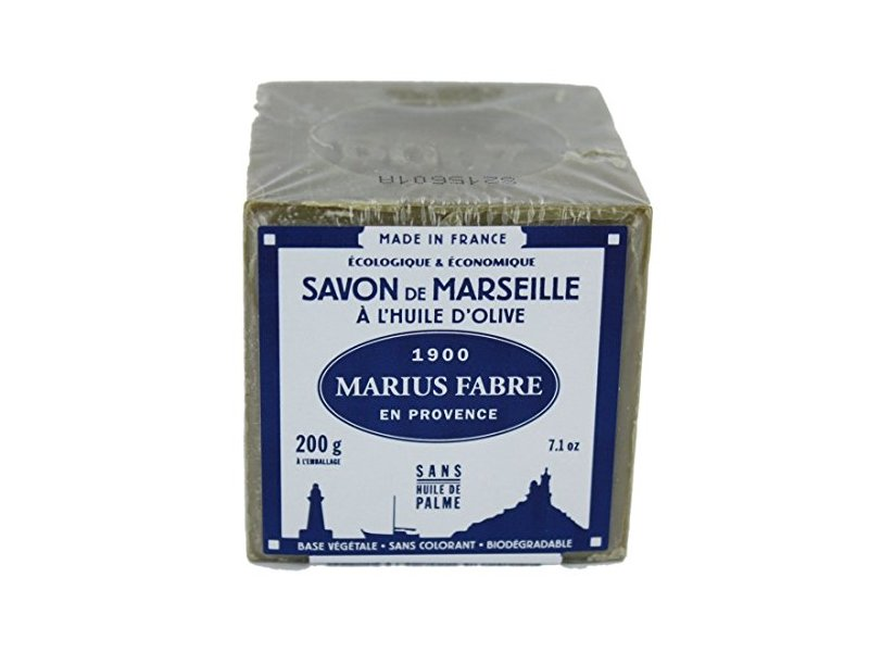 Marius Fabre Savon De Marseille Olive Oil Soap, 200 g