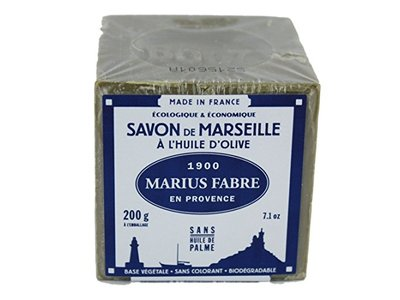 Marius Fabre Savon De Marseille Olive Oil Soap, 200 g - Image 1