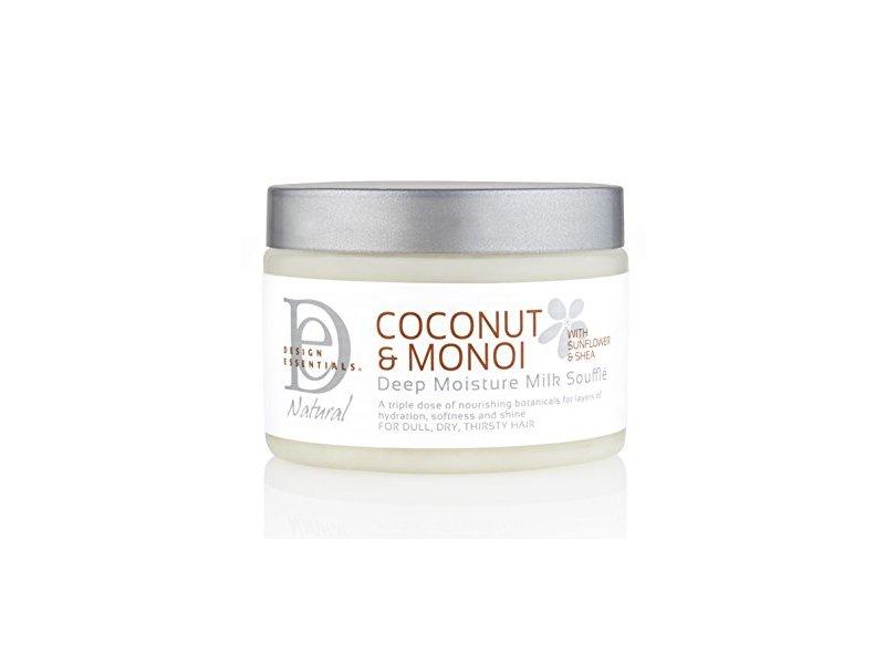 Design Essentials Moisture Boosting Milk Protein Souffle, Coconut & Monoi, 12 oz