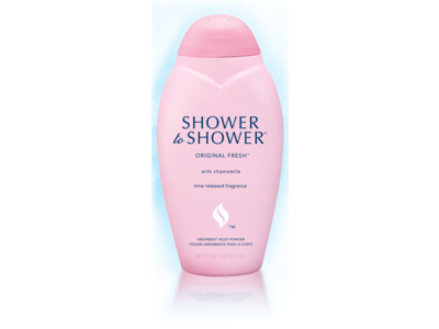 Shower To Shower Body Powder, Original Fresh, 8 oz