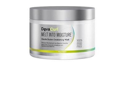 DevaCurl Melt Into Moisture, Matcha Butter Conditioning Mask, 2.7 oz