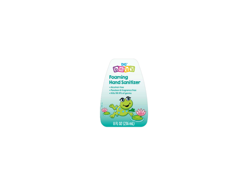 DG Baby Foaming Hand Sanitizer, 8 fl oz