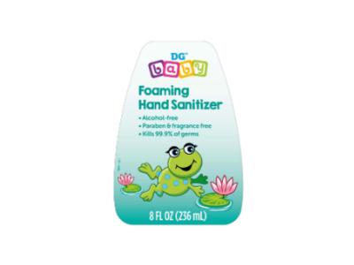 DG Baby Foaming Hand Sanitizer, 8 fl oz