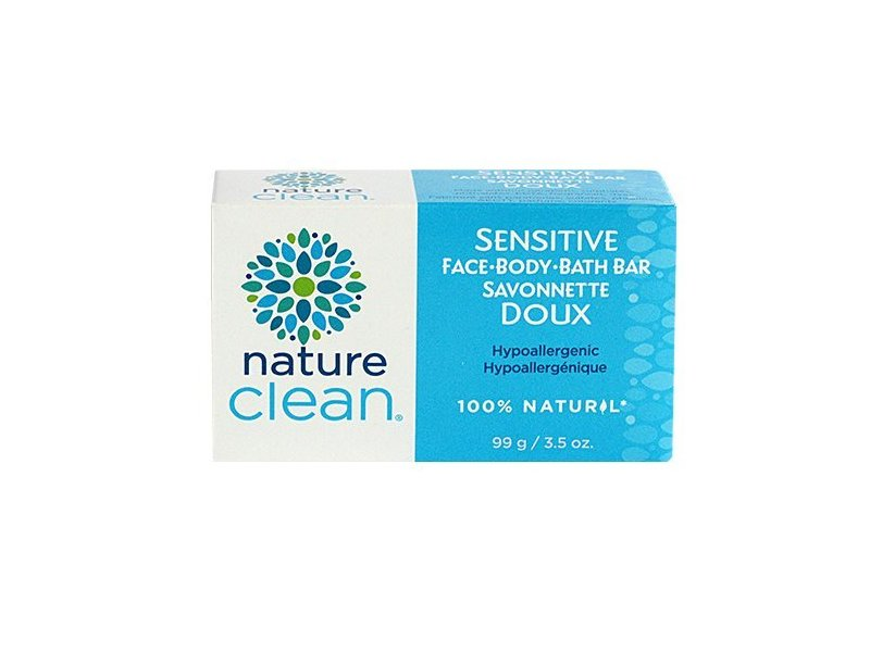 Nature Clean Sensitive Bath Bar, Unscented, 3.5 oz