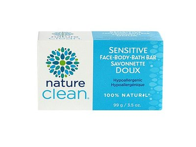 Nature Clean Sensitive Bath Bar, Unscented, 3.5 oz - Image 1
