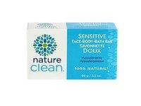 Nature Clean Sensitive Bath Bar, Unscented, 3.5 oz - Image 2