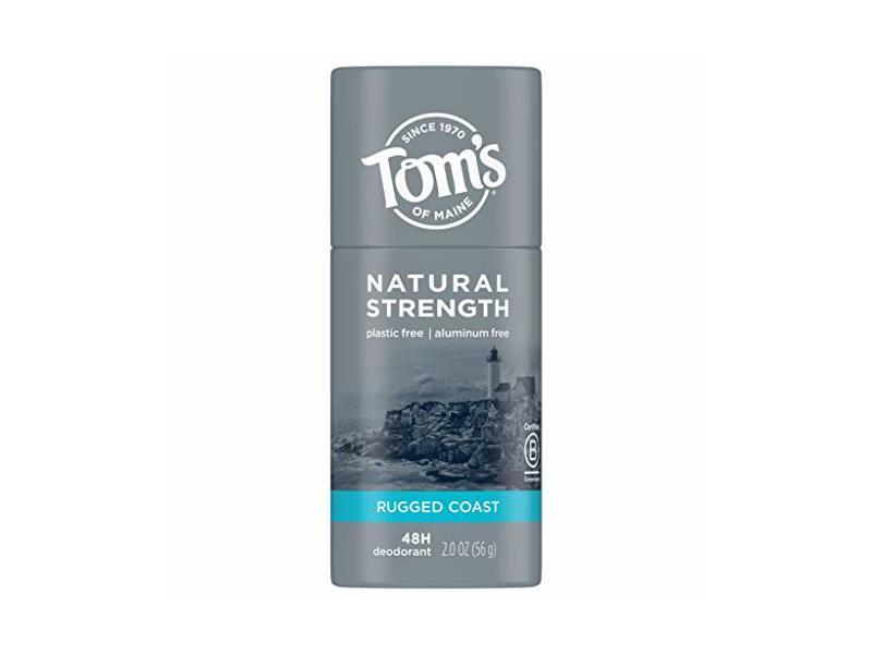 Tom's Of Maine Natural Strength Deodorant ,Rugged Coast, 2 oz/56 g