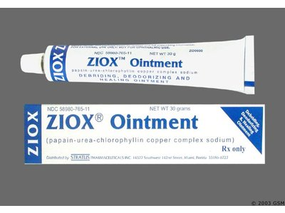 Ziox Topical Ointment 0.5%-521,700unit-10% (RX) 30 Grams, Stratus Pharmacueticals, Inc.