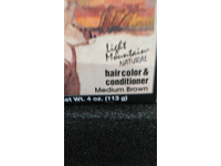 Light Mountain Natural Hair Color & Conditioner, Medium Brown, 4 oz - Image 3