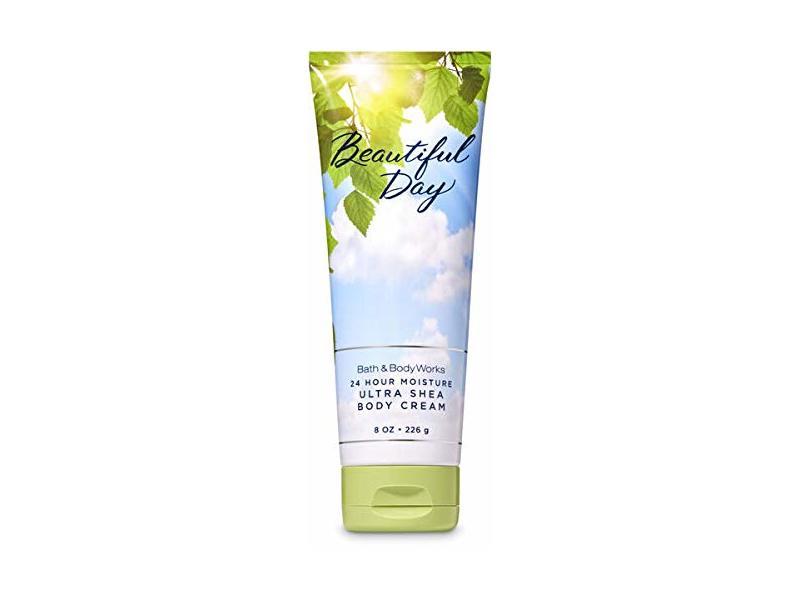 Bath & Body Works Beautiful Day Ultra Shea Body Cream 24-Hour Moisture, 8 oz