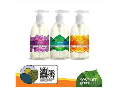 Seventh Generation Hand Wash, Free and Clean, 12 Ounce - Image 7