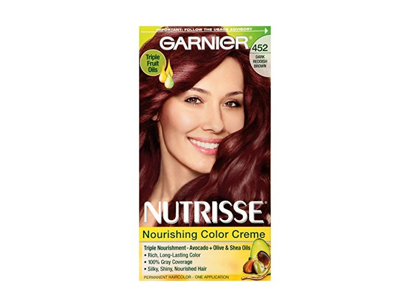 Garnier Nutrisse Nourishing Color Creme 452 Dark Reddish Brown