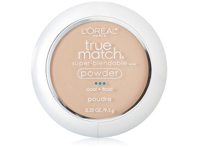 Loreal Paris True Match Super Blendable Powder, C1 Alabaster, 0.33 oz / 9.5 g