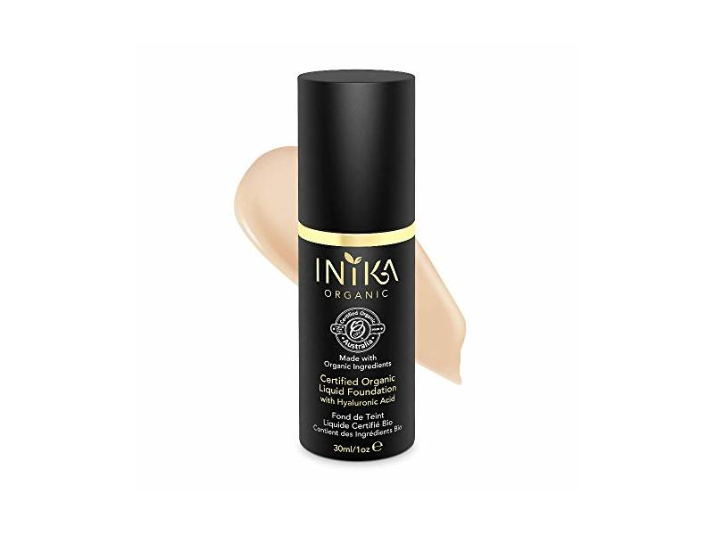 Inika Organic Liquid Foundation, Nude, 1 oz
