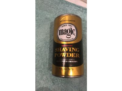 Magic Shaving Powder Gold Can - Image 3