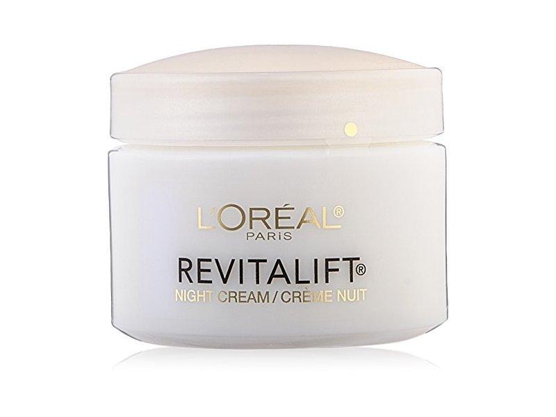 L'Oreal Paris Skin Care Revitalift Anti Wrinkle and Firming Night Cream Bonus Pack, 2.55 Ounce