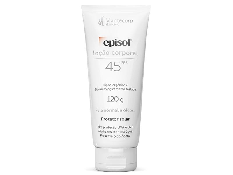 Mantecorp Skincare Episol Locao Corporal, 45 FPS, 120g