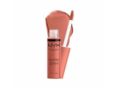 Nyx Professional Makeup Butter Gloss, Bit Of Honey, 0.27 fl oz / 8 ml