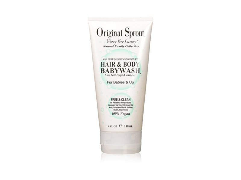 Original Sprout Hair & Body Baby Wash, 4 Ounce