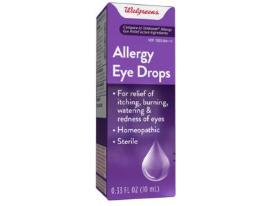 Walgreens Sterile Allergy Eye Drops, 0.33 fl oz/10 mL