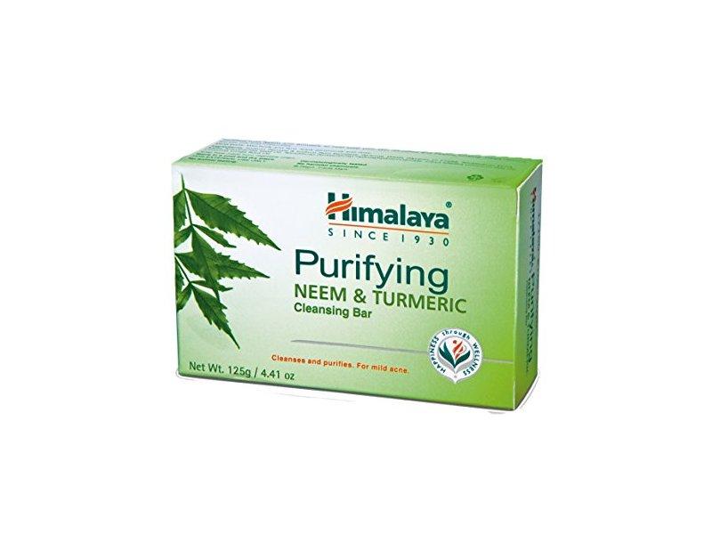 Himalaya Purifying Neem & Turmeric Cleansing Bar, 4.41 Oz