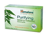 Himalaya Purifying Neem & Turmeric Cleansing Bar, 4.41 Oz - Image 2