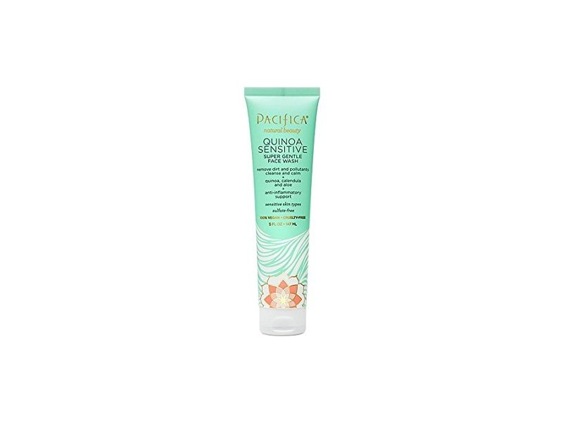 Pacifica Quinoa Sensitive Super Gently Face Wash, 5 fl oz