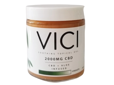 Vici Soothing Topical Gel 2000Mg Cbd, Cbd & Aloe, Infused
