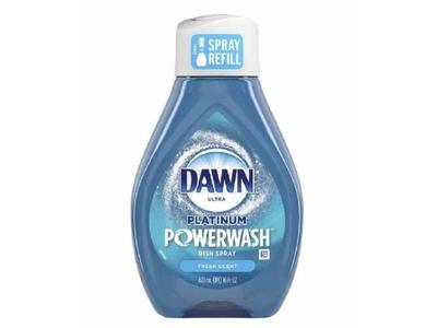 Dawn Platinum Powerwash Dish Spray Soap, Fresh Scent, 16oz