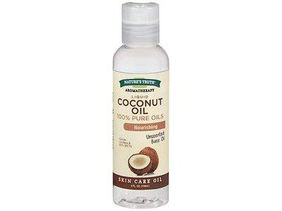 Nature's Truth Liquid Pure Coconut Oil, 4 oz fl oz (2 pack)