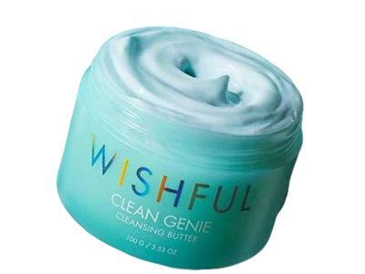 Wishful Clean Genie Cleansing Butter, 3.52 oz / 100g