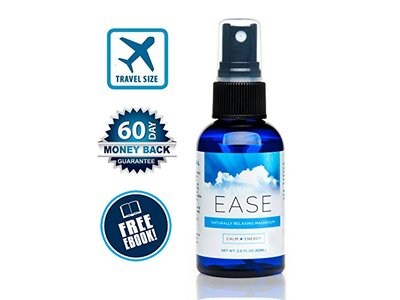 Ease Magnesium Spray, Unscented, 8 fl oz