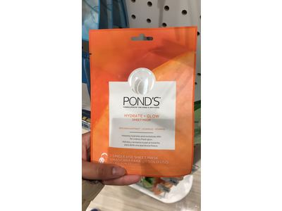 Pond's Hydrate + Glow Sheet Mask, 1 count - Image 3