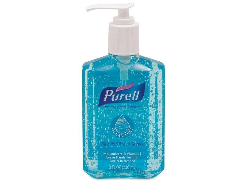 Purell Instant Hand Sanitizer, Ocean Mist, 8 oz