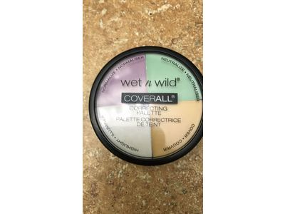 ... Wet n Wild Coverall Correcting Palette, 0.22 oz - Image 3 ...
