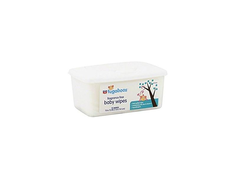 Rite Aid Tugaboos Baby Wipes Fragrance Free 72 Ct