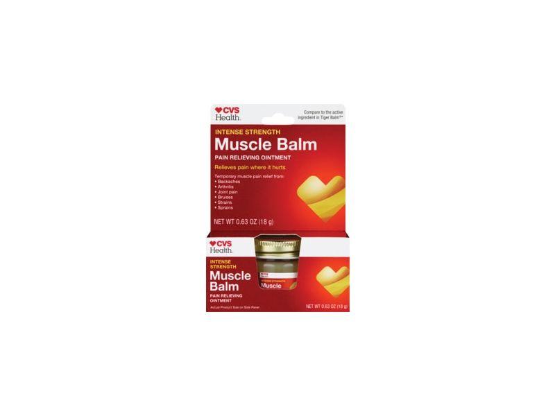 CVS Health Intense Strength Muscle Balm