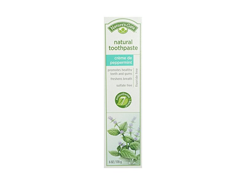 Nature's Gate Toothpaste Creme De Peppermint, 6 oz
