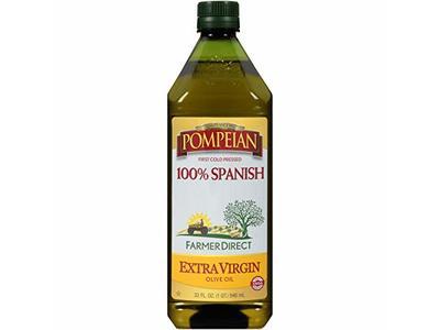 Pompeian 100% Spanish Extra Virgin Olive Oil, 32 oz