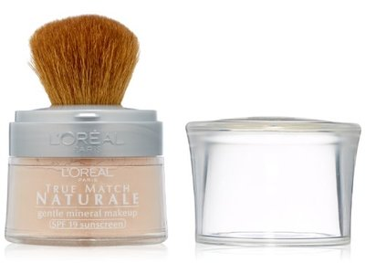 L'Oreal Paris True Match Naturale Mineral Foundation, Natural Ivory, 0.35 Ounces