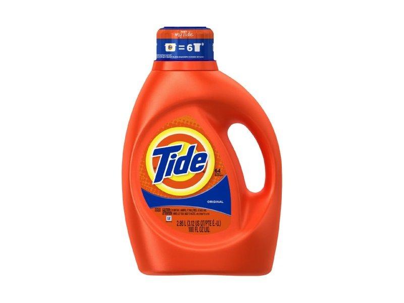 Tide Original Scent Liquid Laundry Detergent, 100 fl oz