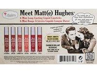 theBalm Meet Matt(e) Hughes Mini Long-Lasting Liquid Lipsticks, 0.04 fl. oz. (Set of 6) - Image 3