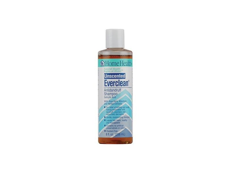Everclean Unscented Antidandruff Shampoo 8 OZ