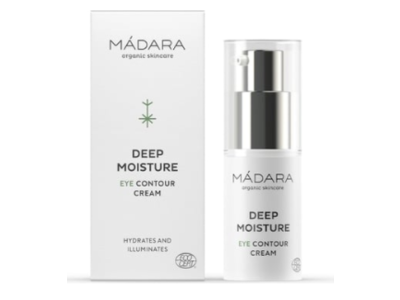 Madara Organic Skincare Deep Moisture Eye Contour Cream, 100 mL