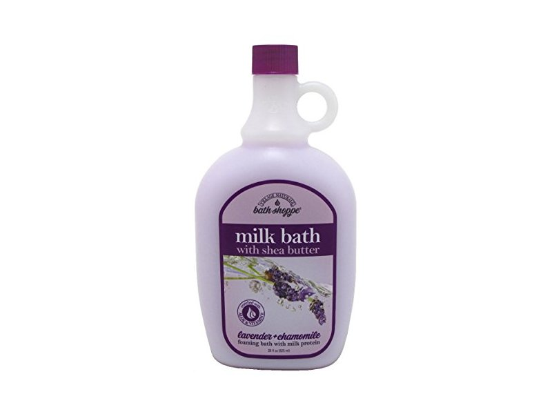 Village Naturals Bath Shoppe Ultra-Moisturizing Milk Bath, Lavender & Chamomile, 28 oz