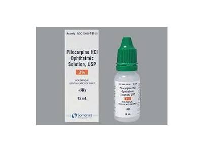 Pilocarpine HCl Ophthalmic Solution, USP 2% (RX), 15 mL Somerset Therapeutics, LLC