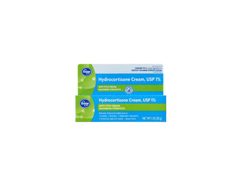 Kroger Hydrocortisone Cream, USP 1%,1 oz