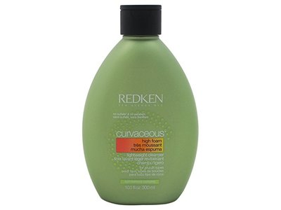 Redken Curvaceous High Foam Cleanser for Unisex, 10.1 Ounce