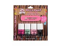 Piggy Paint Water-Based Nail Polish Kit: LOL, Mint to Be, Pinkie, Top Coat - Image 2