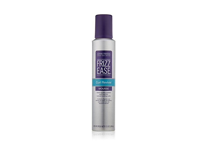 John Frieda Frizz Ease Curl Reviver Styling Mousse 7 2